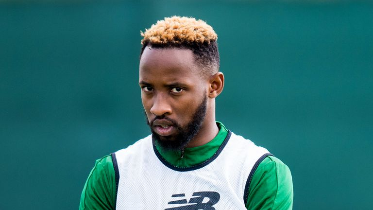 Dembele walked off the training pitch on Friday after speaking to Brendan Rodgers
