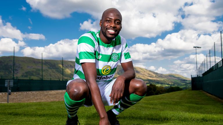 Youssouf Mulumbu has started twice for Celtic this season, in defeats to Kilmarnock and Salzburg