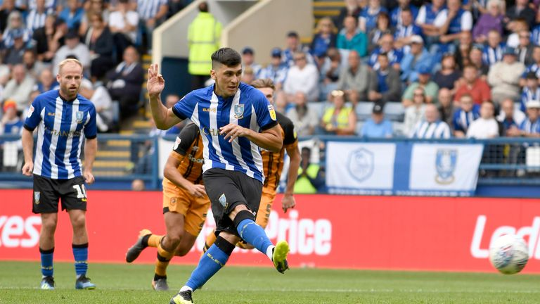 Fernando Forestieri has returned to training with Sheffield Wednesday