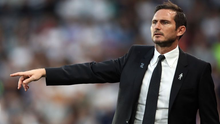 Frank Lampard brings his Derby side to The Hawthorns on Wednesday