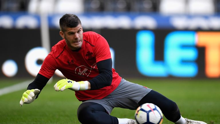 002adcb38ae Southampton goalkeeper Fraser Forster is the tallest player in the Premier  League
