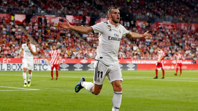 Gareth Bale has scored in both of Real Madrid's opening La Liga matches