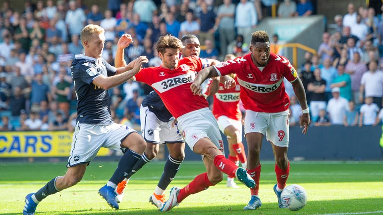 George Friend rescued a point for Boro at The Den
