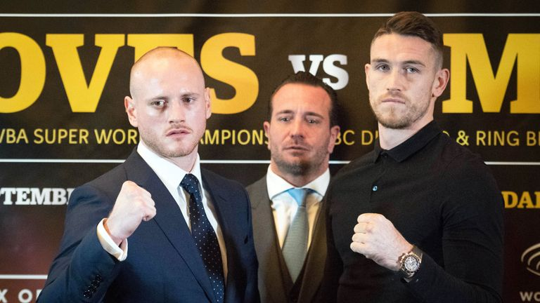 The WBA 'super' champion defends his belt against Smith in Jeddah