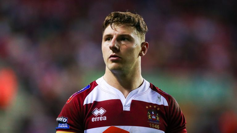 George Williams played in the 2014 and 2015 Grand Finals for Wigan Warriors