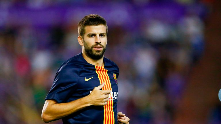 Gerard Pique says Paul Pogba would be welcomed at Barcelona