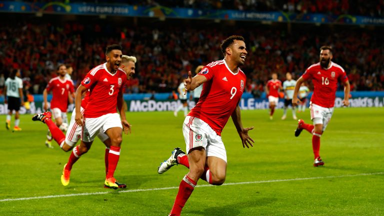 Hal Robson-Kanu was one of the Welsh heroes at Euro 2016