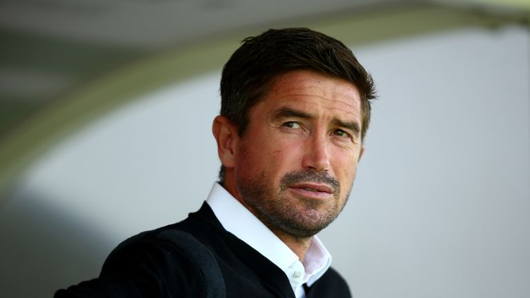 Harry Kewell was dismissed during his first game as Notts County boss