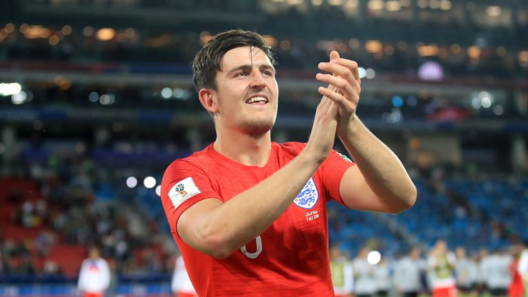 Harry Maguire had made only five England appearances prior to the World Cup