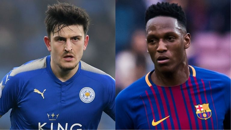 Harry Maguire/Yerry Mina composite