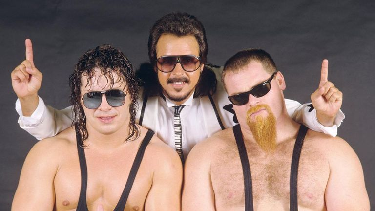 At the start of their WWF run, the Hart Foundation were managed by Jimmy 'the Mouth of the South' Hart