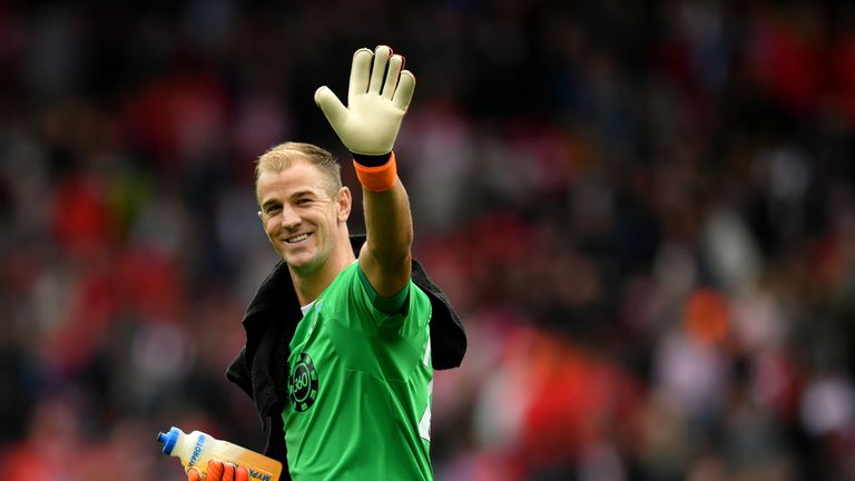 Joe Hart is set to continue in goal for Burnley