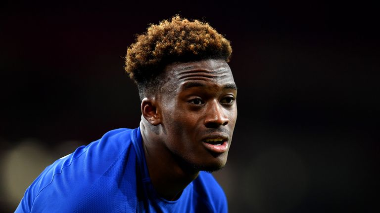 Callum Hudson-Odoi -  one of Chelsea's brightest prospects - was on the bench at Anfield on Wednesday