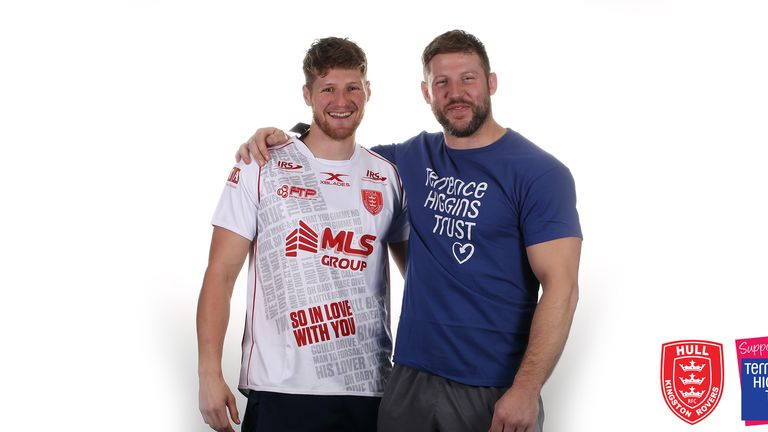 The partnership between Hull KR and the Terrence Higgins Trust has developed further since Andy Bell nominated them as his choice of charity for the Challenge Cup final single