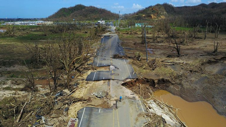 Hurricanes ravaged Puerto Rico in 2017