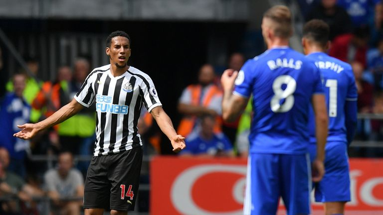 Isaac Hayden Joined Newcastle From Arsenal In July