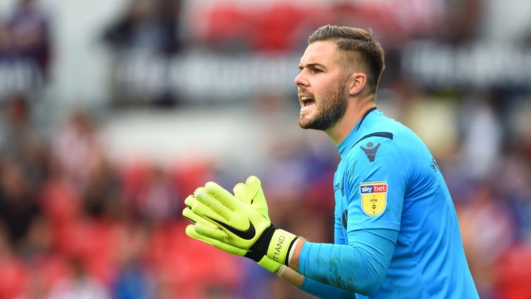 Jack Butland has been Stoke's saviour on several occasions