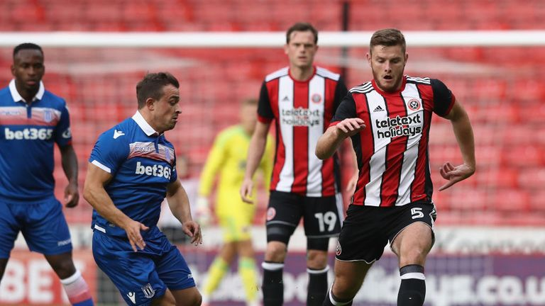Jack O'Connell played every league game for Sheffield United last season