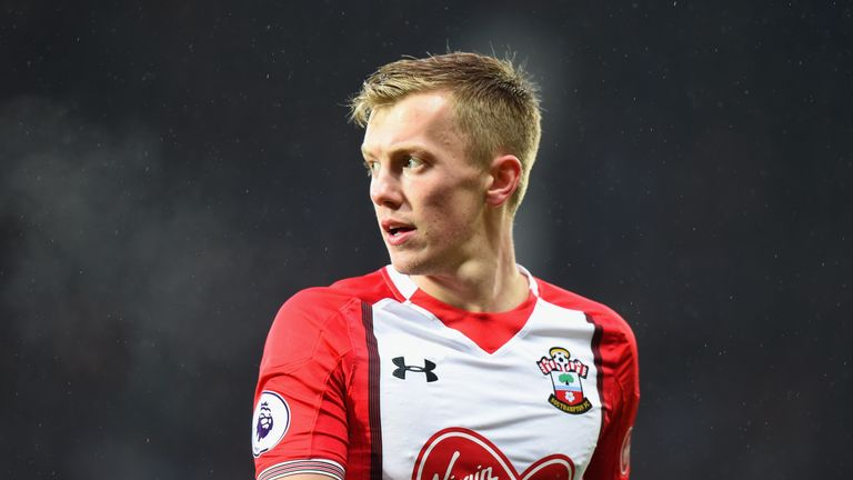 James Ward-Prowse does a perfect impression of Gary Neville and Jamie Carragher on MNF, says Redmond