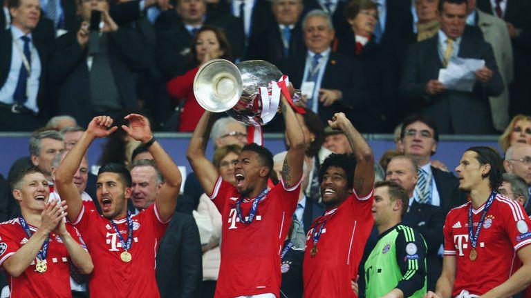 Jerome Boateng won the Champions League with Bayern Munich at Wembley in 2013