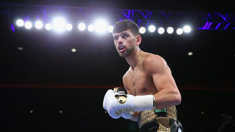 Joe Cordina had to pull out due to a hand injury