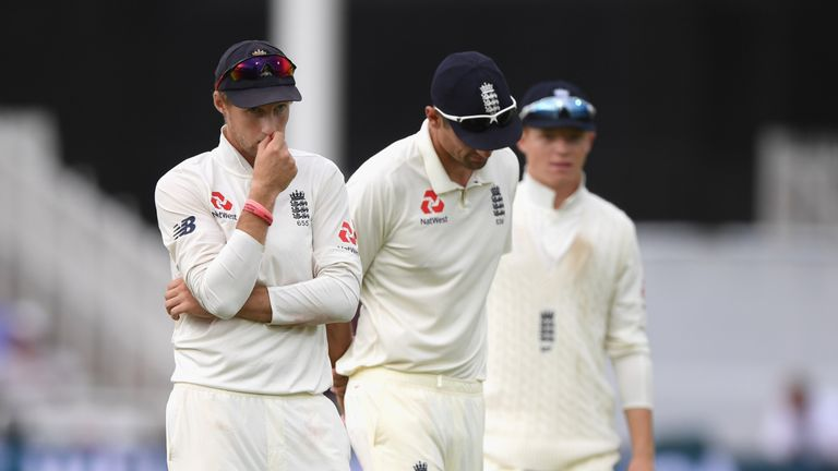 Joe Root during day four of the 3rd Test Match between England and India at Trent Bridge on August 20, 2018 in Nottingham, England