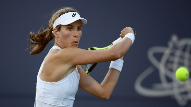 Johanna Konta's Montreal run came to an end at the hands of Elina Svitolina