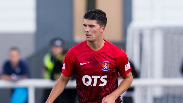 Jordan Jones has featured in all of Kilmarnock's five domestic fixtures so far this season, but has yet to score