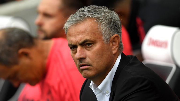 Mourinho saw his side struggle to overcome Brighton