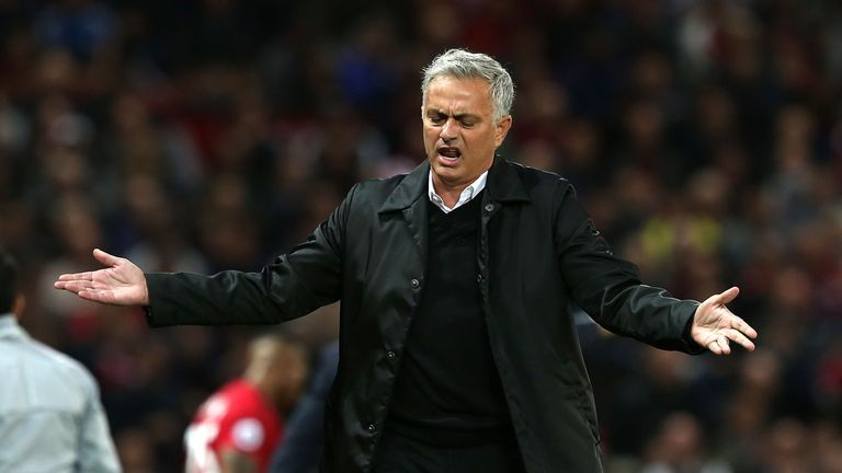 "Mourinho called for ""respect"" after the loss to Tottenham"