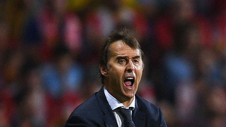 Julen Lopetegui was pleased with how his side performed against Girona