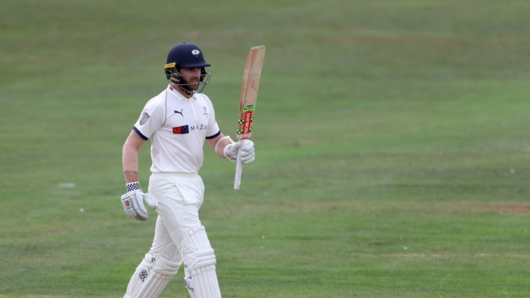 Kane Williamson was the only Yorkshire batsman to pass 50
