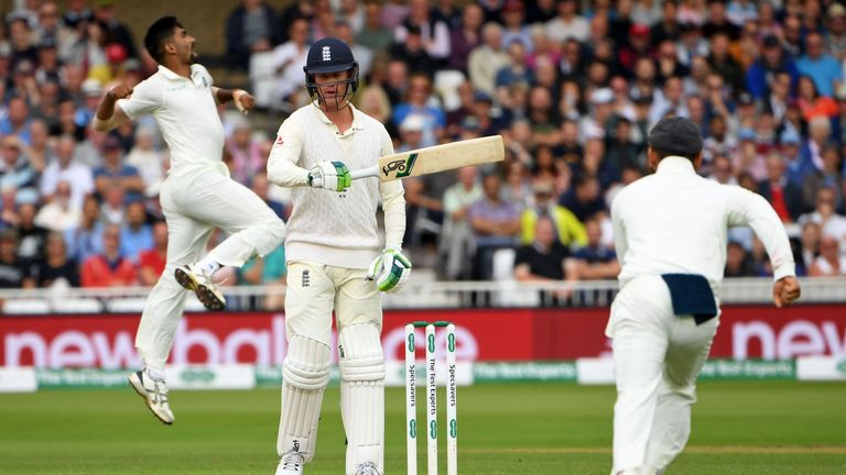 Opener Keaton Jennings once again failed to make a big score