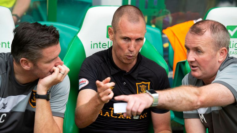 Kenny Miller left Livingston on Monday