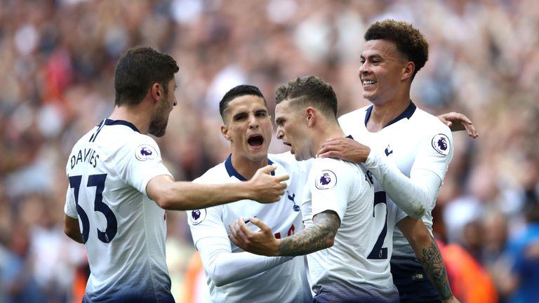 Kieran Trippier's stunning free-kick restored Tottenham's lead