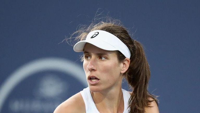 Johanna Konta defeated Serena Williams in San Jose