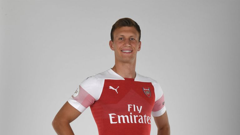 Krystian Bielik has only made two first team appearances for Arsenal