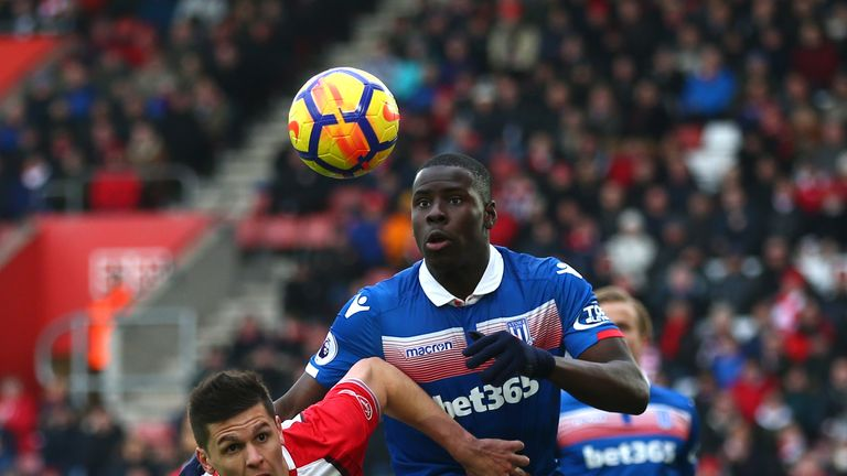 Kurt Zouma could feature for Everton after joining from Chelsea
