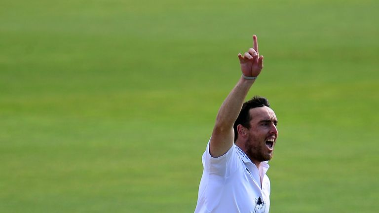 Kyle Abbott has taken 47 wickets in 19 innings for Hampshire in Division One this season