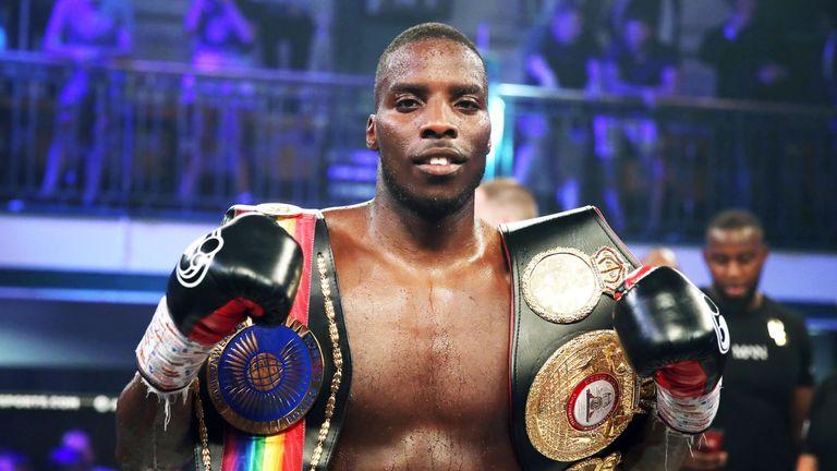 Lawrence Okolie challenges British champion Matty Askin on Saturday's Anthony Joshua bill, live on Sky Sports Box Office