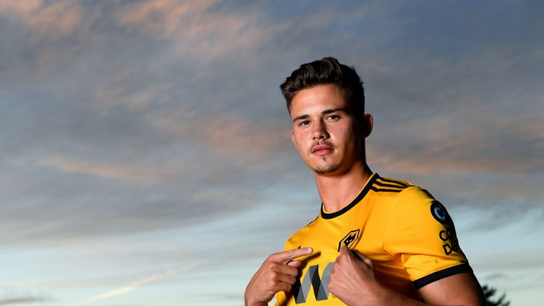Leander Dendoncker has joined Wolves from Anderlecht on an initial season-long loan