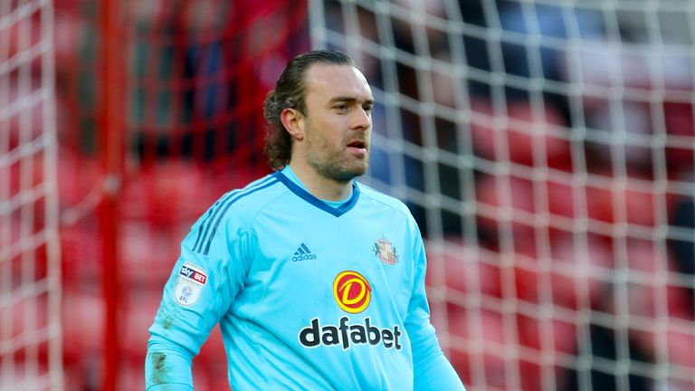 Lee Camp spent the second half of last season on loan at Sunderland
