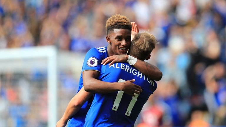 Marc Albrighton says team-mate Marc Albrighton has the ability to get people off the edge of their seats
