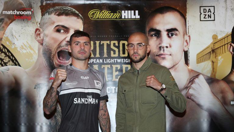 Lewis Ritson battles Franceso Pantera for the European belt