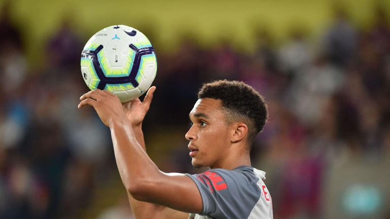 Liverpool players like Trent Alexander-Arnold will now receive specialist coaching to take throw-ins