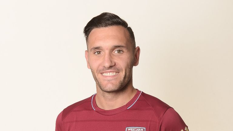 Lucas Perez is 'excited' to have moved across London to West Ham (pic courtesy of WHUFC.com)
