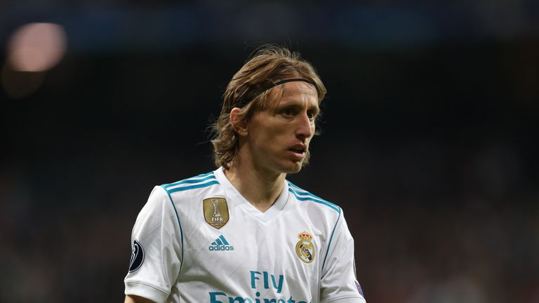 Luka Modric helped Croatia to reach the World Cup final this summer