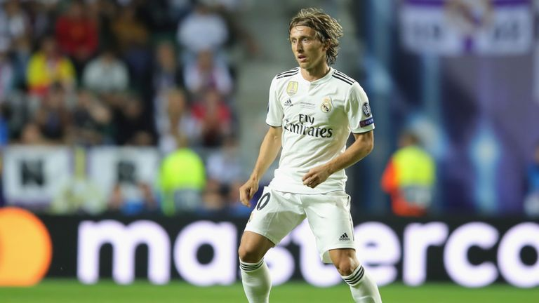 cf45386d6 Luka Modric was part of Real Madrid s Champions League-winning team