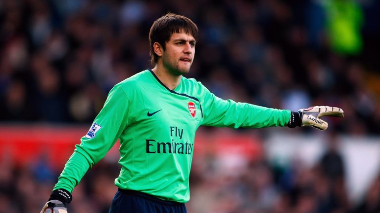 Fabianski spent seven years with Arsenal before joining Swansea in 2014