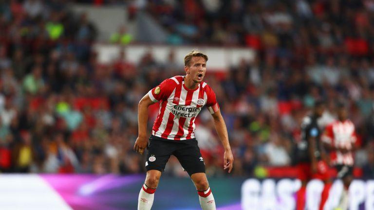 Luuk de Jong scored twice in PSV's win at PEC Zwolle